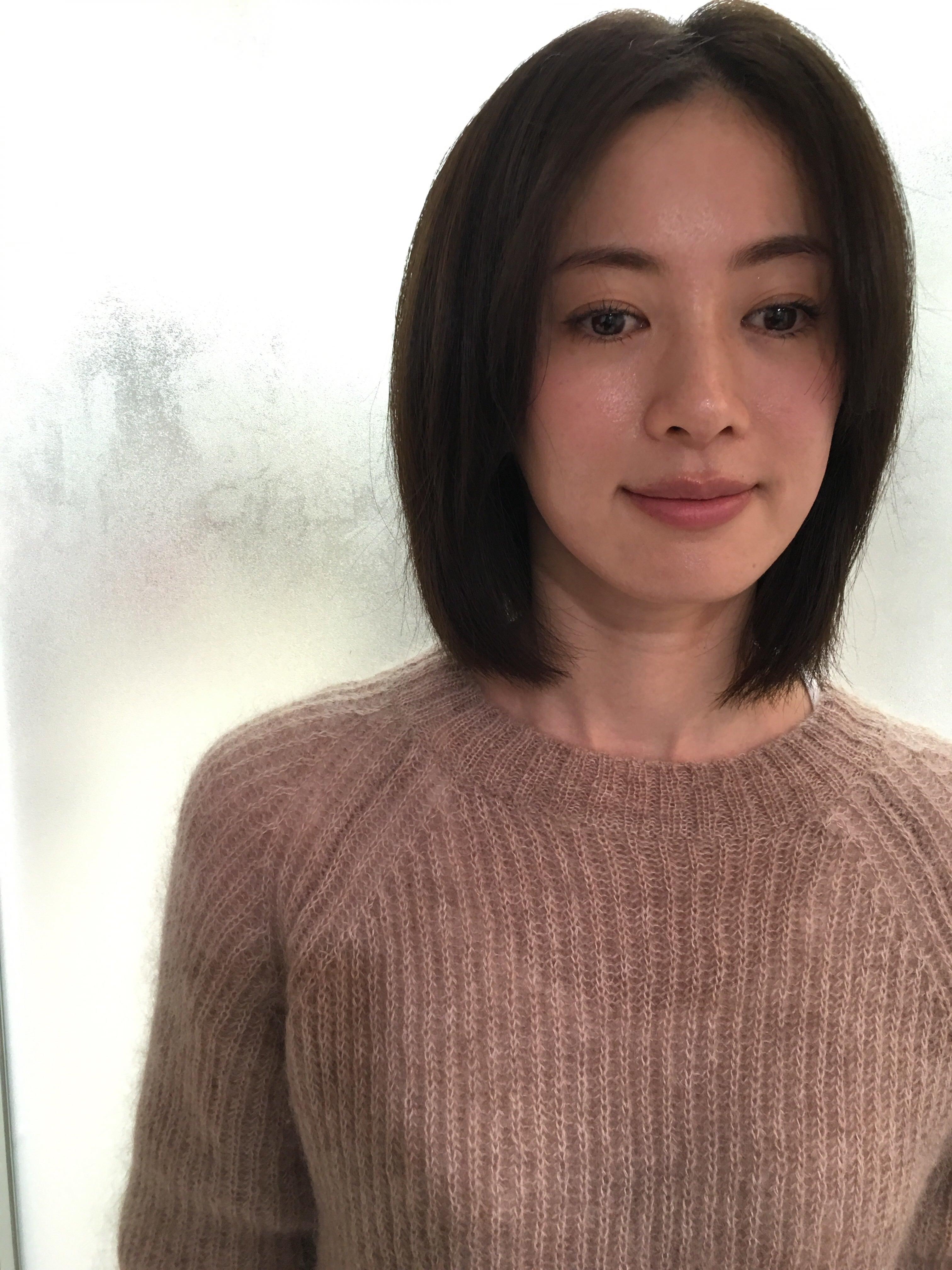 もうすぐ春ですね。(高垣麗子さんの髪) | naoto kimura